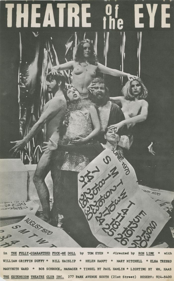 Photo Posters: Theatre Of The Eye Productions (circa 1969) [1]