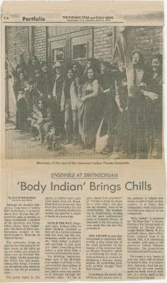Press: AITE at the Smithsonian Institution (1973)