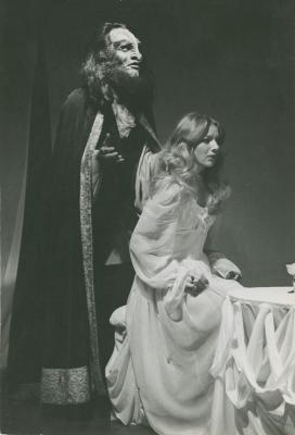 """Production Photographs by Amnon Ben Nomis: """"Beauty & The Beast"""" (1973)"""