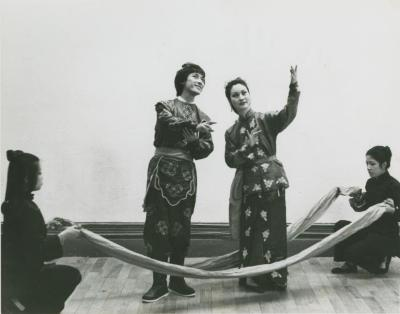 """Rehearsal Photographs: """"The Legend of Wu Chang"""" (1977)"""