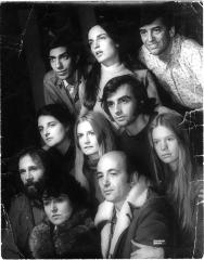 """Promotional Photograph: """"Two By Maria Irene Fornes"""" (1969)"""