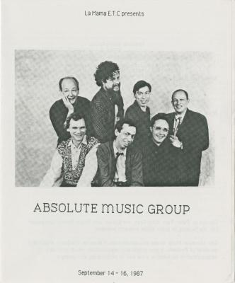 """Show File: """"Absolute Music Group"""" (1987)"""
