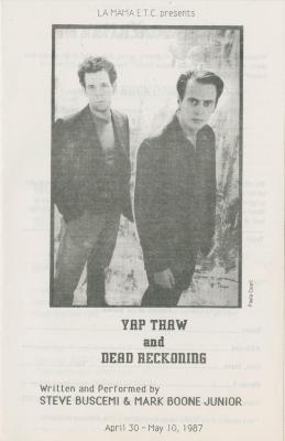 """Show File: """"Yap Thaw"""" and """"Dead Reckoning"""" (1987)"""