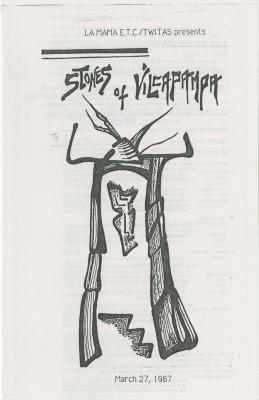 """Show File: """"Stones of Vilcapampa"""" (1987)"""