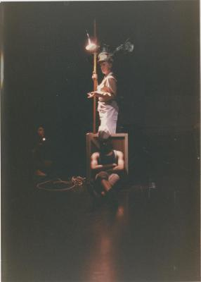 """Production Photograph: """"An Altar to Himself"""" (1988)"""