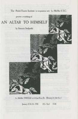 """Show File: """"An Altar to Himself"""" (1988)"""