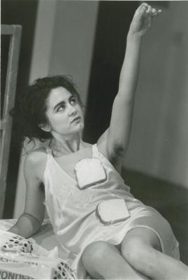 """Promotional Photographs: """"Autobiography of an Eclipse"""" and """"Memoirs of an Adult Woman"""" (1989)"""
