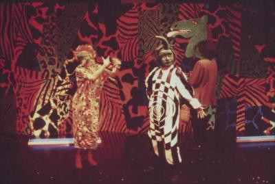 """Photograph: """"Head to the Future,"""" A Poets Theater Festival (1989)"""
