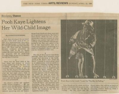 Show File: Pooh Kaye/Eccentric Motions (1989)