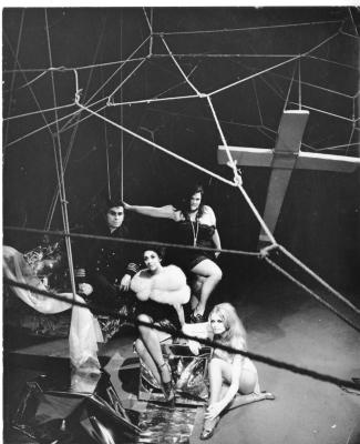 Production Photograph: The White Whore and the Bit Player (1971)