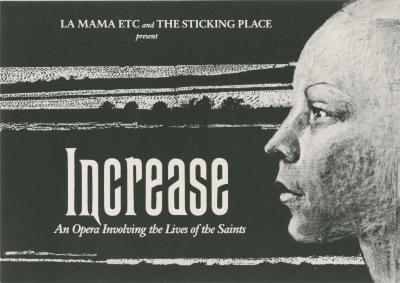 """Show File: """"Increase: The Story of a Saint"""" (1990)"""