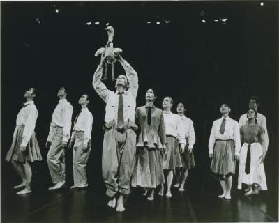 Production Photograph: Chen and Dancers (1990b)