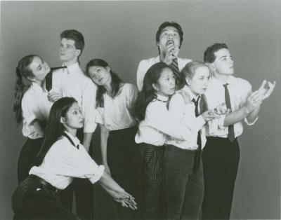 Promotional Photographs: Chen and Dancers (1990b)