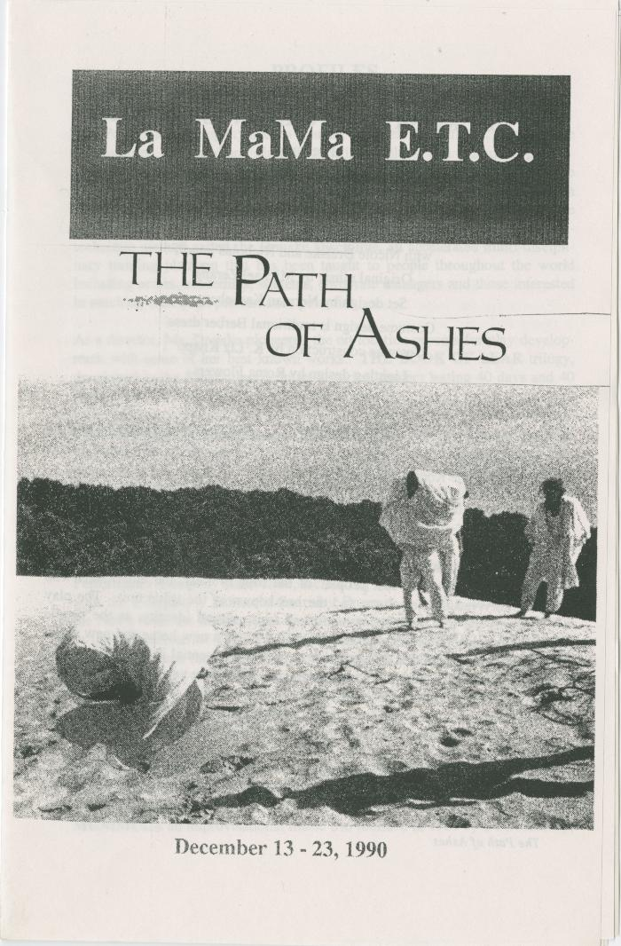 "Program: ""The Path of Ashes"" (1990)"