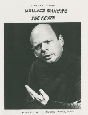 """Promotional Flyer: """"The Fever"""" (1991)"""