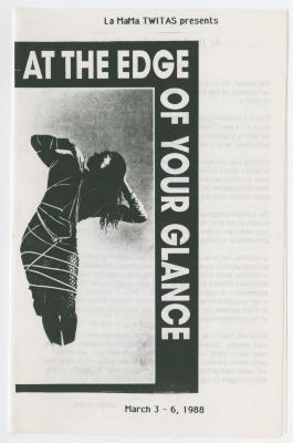 """Program: """"At the Edge of Your Glance"""" (1988)"""