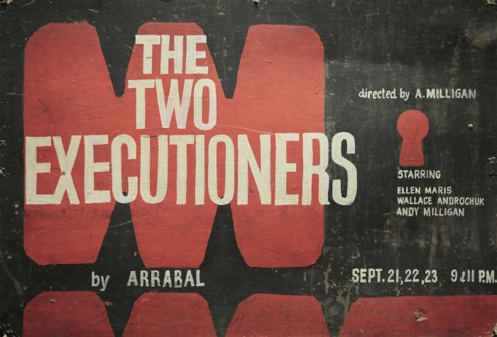 """Poster: """"The Two Executioners"""" (1962)"""