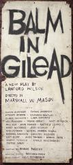 """Poster: """"Balm in Gilead"""" (1965)"""