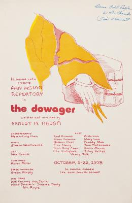 """Poster: """"Dowager, The"""" (1978)"""