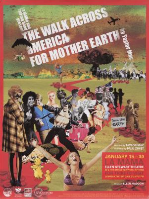 """Poster: """"The Walk Across America for Mother Earth"""" (2011)"""
