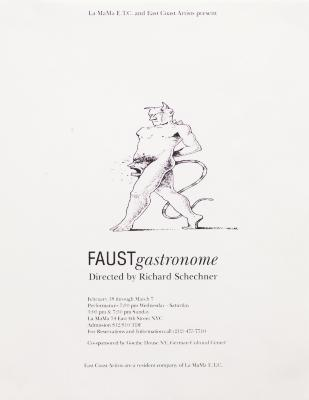 """Poster: """"Faust/Gastronome"""" (1993)"""