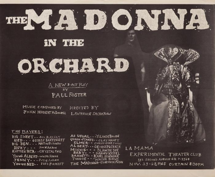Poster: Madonna In the Orchard (1965)