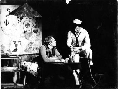 """Production Photographs: """"Tattoo Parlor"""" (1966)"""