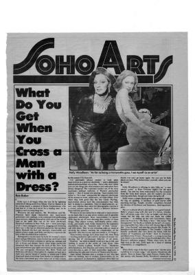 """""""What Do You Get When You Cross a Man With a Dress?"""" (P. 1)"""