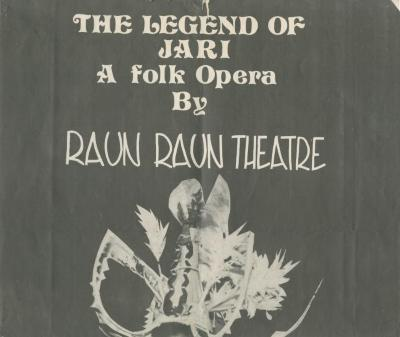 """Poster for """"The Raun Raun Theatre of Papua New Guinea"""" (1978)"""