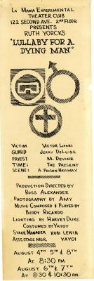 """Program: """"Lullaby for a Dying Man"""" (1965)"""