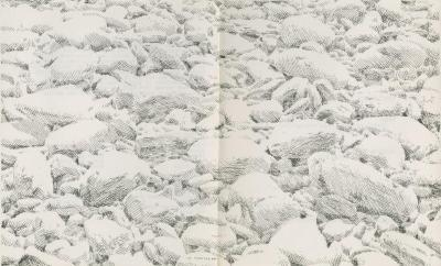 """Program for """"Laughing Stone: Solo work by Sin Cha Hong"""" (1980)"""