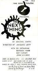 """Notice: """"The Next Thing"""" (1966)"""