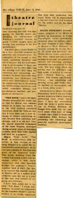 """Review of """"Viet Rock"""" (May 1966)"""