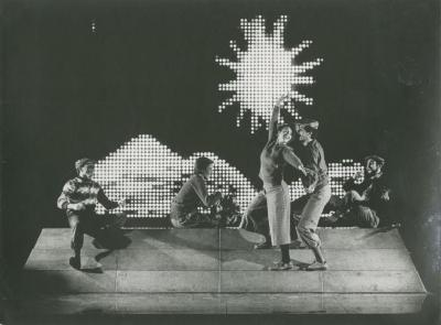 """Production Photographs: """"Olympic Man Movement"""""""