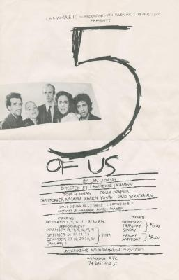 """Poster for """"Five of Us"""" (1983)"""