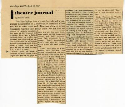 """Review of """"Court"""" (1967)"""