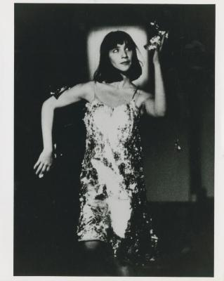 Production Photograph: Woman in a Dress