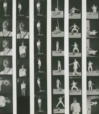 """Contact Sheets: """"Must Be/The Noose"""" (1974)"""