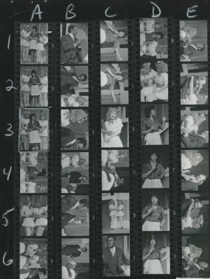 """Contact Sheets: """"Family Meeting"""" (1972) 01a"""