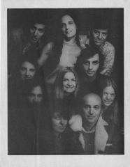 """Program for """"Two by Maria Irene Fornes"""" (1969) (PHOTO SIDE)"""