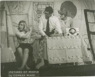 """Production Photographs: """"And Now the Weather"""" (1965)"""