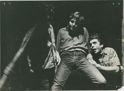 Unidentified Production Photograph from La MaMa Repertory Troupe First European Tour (1965) [?]