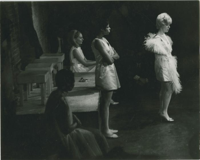 """Production Photograph: """"A Coffee Ground Among the Tea Leaves"""" (1967)"""