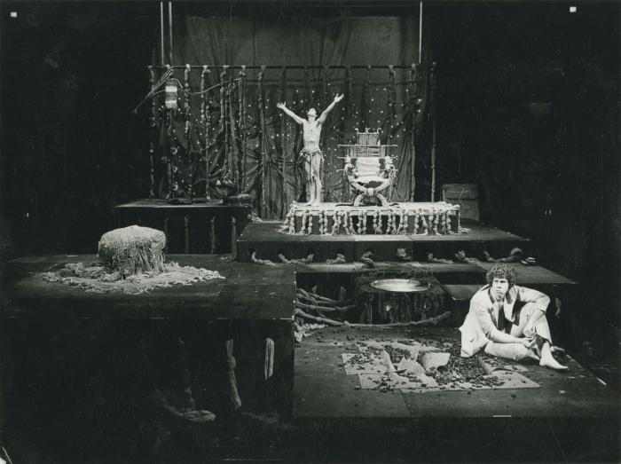 """Rehearsal Photograph by Bob Van Dantzig: """"The Architect And The Emperor Of Assyria"""""""