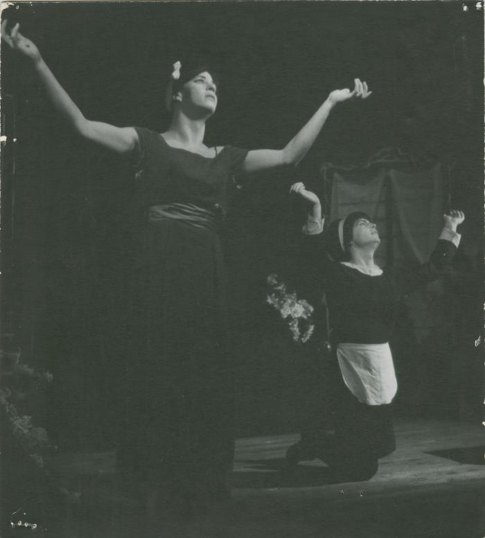 """Production Photograph: """"The Maids"""" (1965)"""