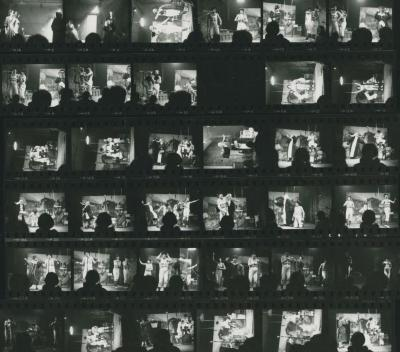 """Contact Sheet: """"The Only Jealousy of Emer"""" and """"Renard"""" (1970)"""