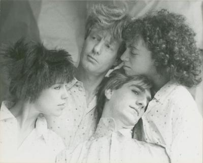 """Promotional Photographs: """"Re Room"""" (1985)"""