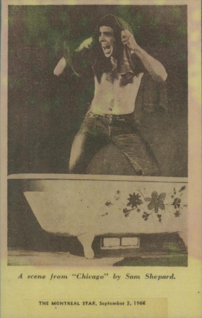 """Clipping: """"What's Happening Off Off-Broadway -- Where Nothing is Taboo"""" (1966)"""