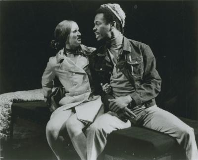 """Production Photographs: """"Five One-Act Plays by Ed Bullins"""" (1972)"""