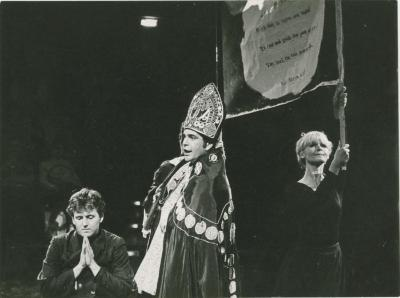 """Production Photograph: """"Tom Paine"""" in Sweden (1967) [1]"""